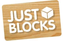 JUST BLOCKS - natürliche Bauklötze: Holzspielzeug Profi