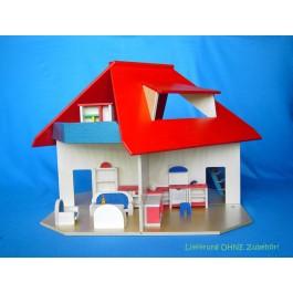 Beck Puppenhaus mit Gaube - Holzspielzeug Profi