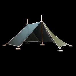 ABEL tent 2 in grün - Holzspielzeug Profi