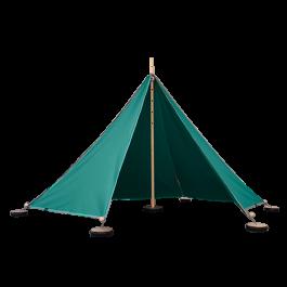 ABEL tent 1 in türkis - Holzspielzeug Profi