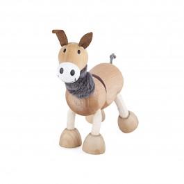 anaMalz Esel von vorne - Holzspielzeug Profi