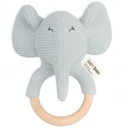 Baby Bello Rassel Beißring Elvy the Elephant - Holzspielzeug Profi