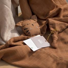 Baby Bello Toby the Tiger: Sandy Almond - Holzspielzeug Profi