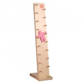 Beck Klabastermännchen Pastell rosa - Holzspielzeug Profi