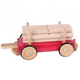 Beck Langholzwagen für die Holzeisenbahn - Holzspielzeug Profi