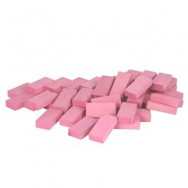 Beck Pastell Uhlbausteine rosa - Holzspielzeug Profi