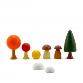 CLICQUES Autumn Garden  - Holzspielzeug Profi