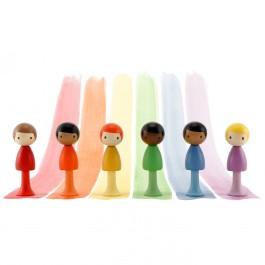 CLICQUES Rainbow Boys - Holzspielzeug Profi