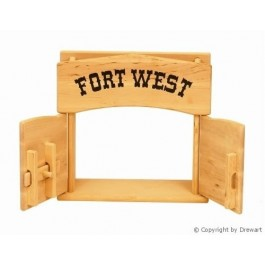 Drewart Großes Tor - Fort West - Holzspielzeug Profi