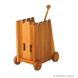Drewart Katapult von vorne - Holzspielzeug Profi