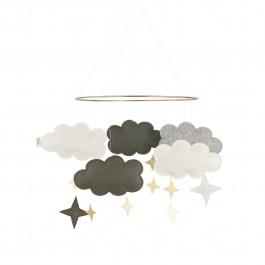 Baby Bello Filz-Mobile Fantasy Clouds Wolken Mobile in Forest - Holzspielzeug Profi