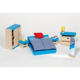Puppenmöbel Schlafzimmer modern