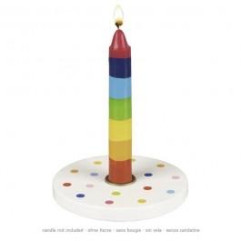 Kerzenhalter Kofetti von goki (Lieferung ohne Kerze!) - Holzspielzeug Profi