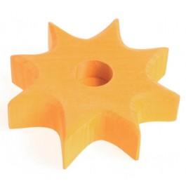 GRIMM´S Lebenslicht Stern gelb - Holzspielzeug Profi