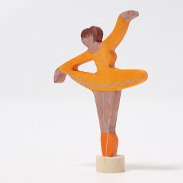 GRIMM´S Stecker Ballerina Orangenblüte - Holzspielzeug Profi
