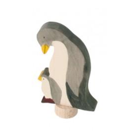 GRIMM´S Tier-Stecker Pinguin, handbemalt