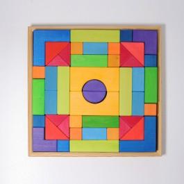 GRIMM´S Grundbaukasten 2- Holzspielzeug Profi
