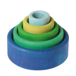 GRIMM´S Schälchensatz ozean - Holzspielzeug Profi