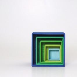 GRIMM´S Kleiner Kistensatz Ozean - Holzspielzeug Profi