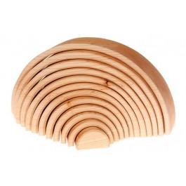 GRIMM´S Großes Bogenspiel natur - Holzspielzeug Profi