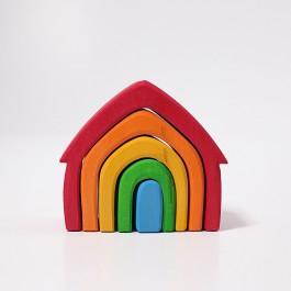 GRIMM´S Haus bunt - Holzspielzeug Profi