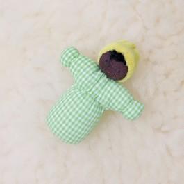 GRIMM´S Biegepüppchen Baby Sam Ebenholz  - Holzspielzeug Profi
