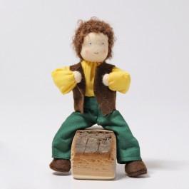 GRIMM´S Biegepüppchen Herr Erle - Holzspielzeug Profi