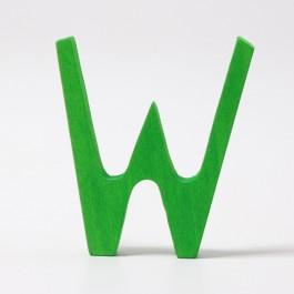 GRIMM´S Buchstabe Waldorf W - Holzspielzeug Profi