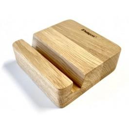 Holzpost® Smartphone Halter aus Eiche - Holzspielzeug Profi