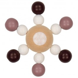 Heimess Greifling Perlenkreisel Trend Mädchen rosa 21/22 - Holzspielzeug Profi