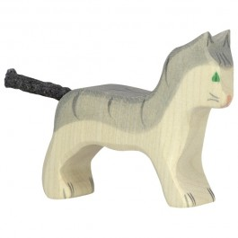 Holztiger KleineKatze grau - Holzspielzeug Profi
