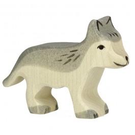 Holztiger Kleiner Wolf - Holzspielzeug Profi