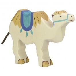HOLZTIGER Kamel mit Sattel - Holzspielzeug Profi