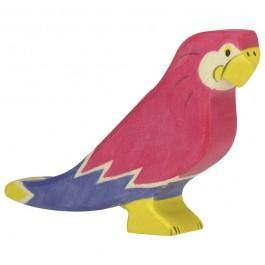HOLZTIGER Papagei - Holzspielzeug Profi