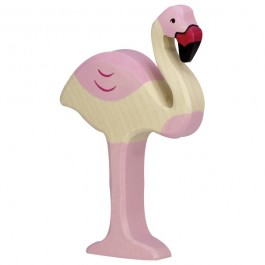 HOLZTIGER Flamingo - Holzspielzeug Profi