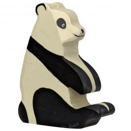 HOLZTIGER Großer Panda Pandabär - Holzspielzeug Profi