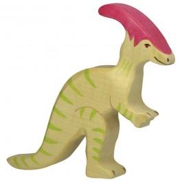 Holztiger Parasaurolophus - Holzspielzeug Profi