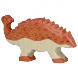 Holztiger Ankylosaurus - Holzspielzeug Profi