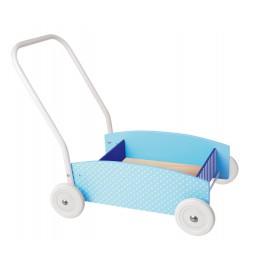 JaBaDaBaDo Lauflernwagen blau - Holzspielzeug Profi