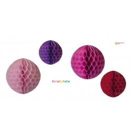 JaBaDaBaDo Party Honeycomb in Mädchenfarben - Holzspielzeug Profi