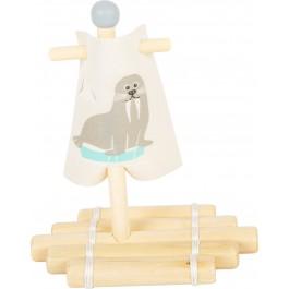 small foot Wasserspielzeug Floß Walross - Holzspielzeug Profi