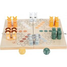 Ludo Safari für 6 Spieler von small foot - Holzspielzeug Profi