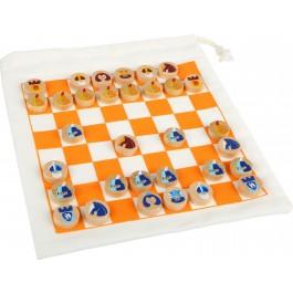 Schach Reisespiel mit Beutel - Holzspielzeug Profi