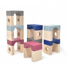 Lubulona Tunnel Blocks Tetuan Double - Holzspielzeug Profi
