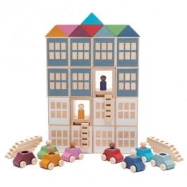 Lubulona Lubu Town Edu Mega Pack - Holzspielzeug Profi