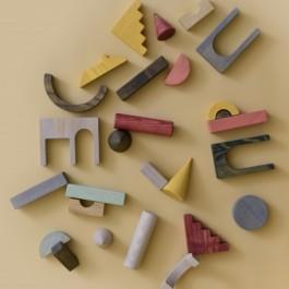 MinMin Copenhagen Architectural Blocks - Holzspielzeug Profi