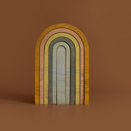 MinMin Copenhagen Mini Rainbow Pastel - Holzspielzeug Profi