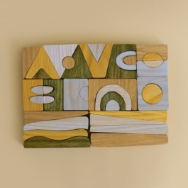 MinMin Copenhagen Puzzle Game - Holzspielzeug Profi