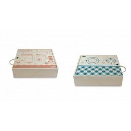 Me&Mine Take away Spielkoffer Küche / City - Holzspielzeug Profi