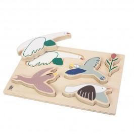 sebra Holzpuzzle Singing Birds - Holzspielzeug Profi
